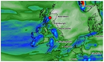 uk and europe daily weather forecast latest march 13 windy through the weekend with further heavy showers in britain