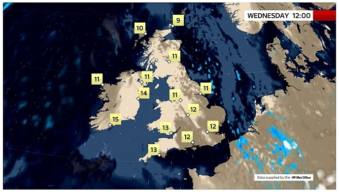 UK and Europe daily weather forecast latest, March 17: Mostly fine with plenty of sunshine for most parts in the UK