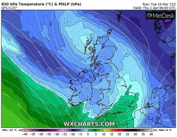 uk and europe daily weather forecast latest march 18 mostly dry and cloudy but rain to affect eastern england and northwest scotland