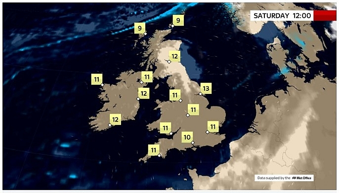 UK and Europe daily weather forecast latest, March 20: Mainly dry but largely cloudy day in the UK