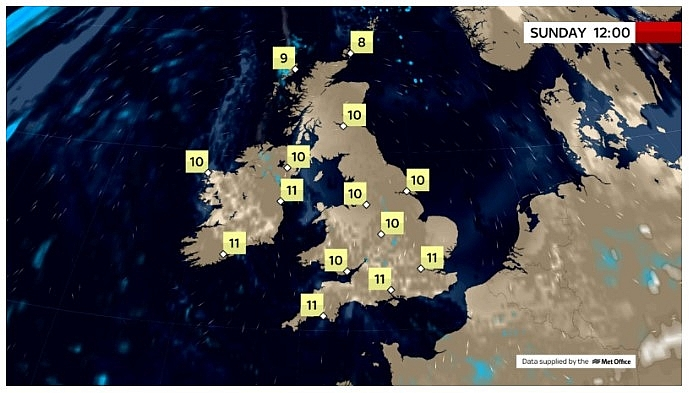 UK and Europe daily weather forecast latest, March 21: Cloudy weather to continue while most places be dry