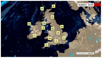 uk and europe daily weather forecast latest march 21 cloudy to continue while most places be dry