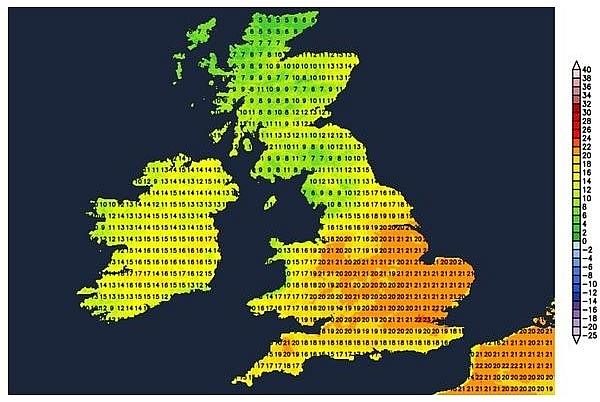 UK and Europe daily weather forecast latest, March 28: Rain, mountain snow across western areas from Wales northwards