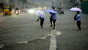 india daily weather forecast latest march 29 an orange alert issued across six states with heavy showers over parts of northeast india