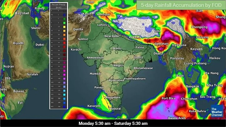 India daily weather forecast latest, March 30: Wet weather over Ladakh, Jammu & Kashmir, Himachal, Kerala, and Northeast India