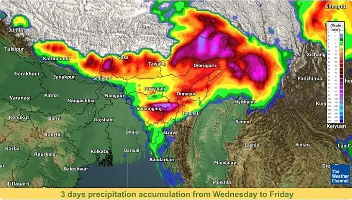 India daily weather forecast latest, April 1: Heavy rainfall to hit Assam, Meghalaya, Andaman & Nicobar Islands