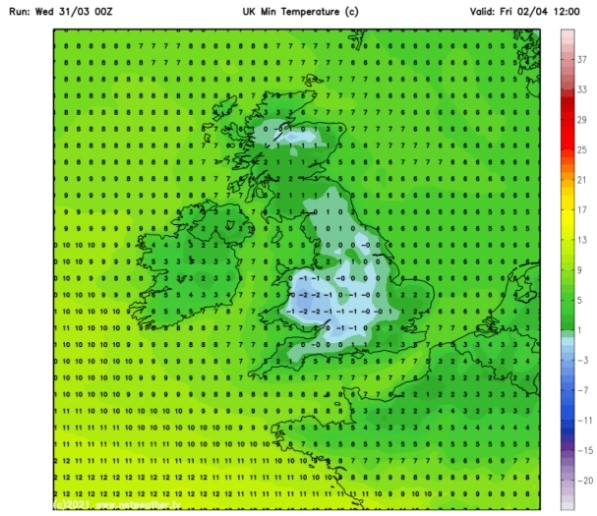 UK and Europe daily weather forecast (April 2): Breezy in the east and feeling cool along the coasts of the UK