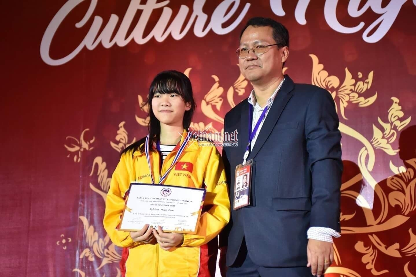 Young Asian Chess Cup champion wins VND 3.3 billion scholarship