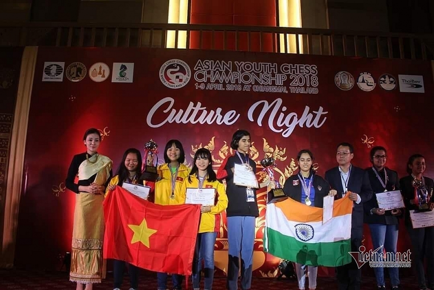 Young Asian Chess Cup champion wins VND3.3 billion scholarship