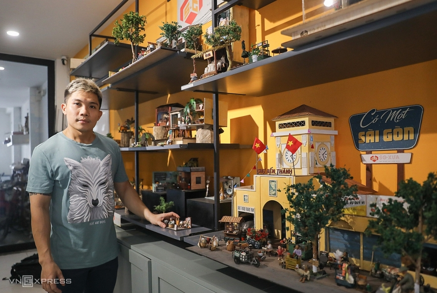 Old Saigon springs back to life in miniature