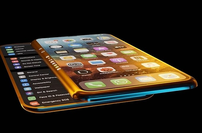 iphone slide pro recalling the sliding second screen