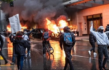 protests and riots in america update minneapolis city council is looking to move funding from police