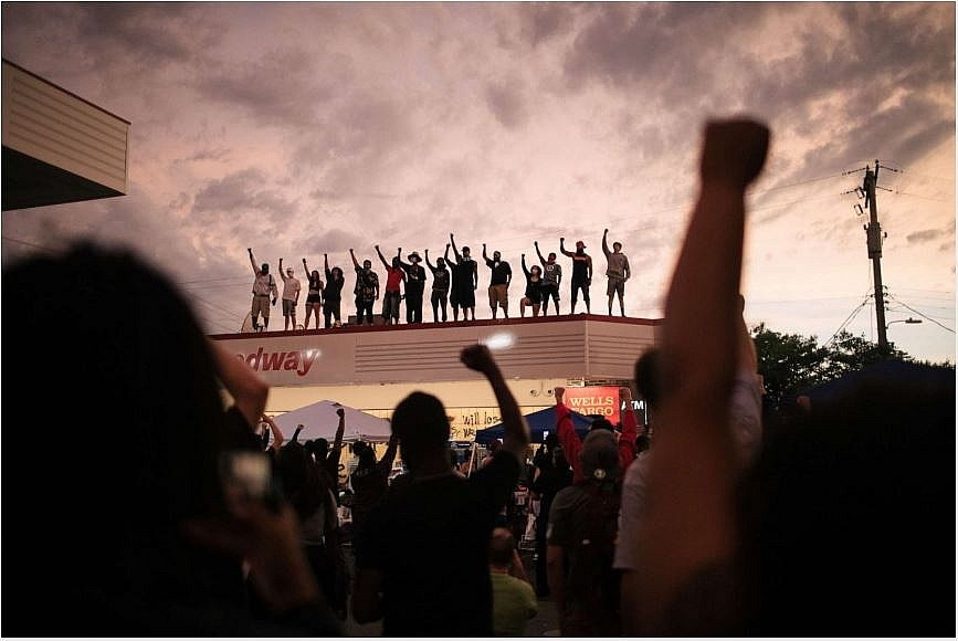 protests and riots in america update time to say goodbye to man whose death ignited racism matter