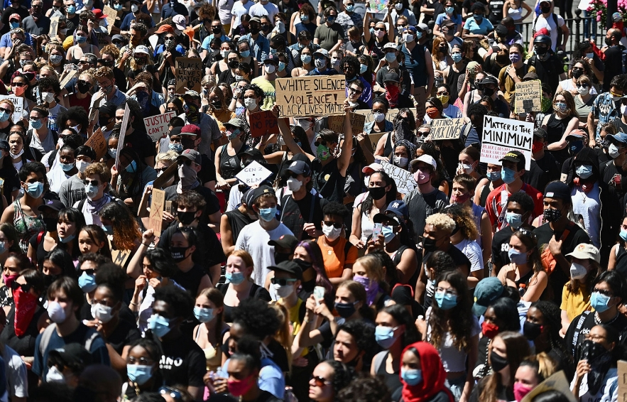 protests in america update president trump says no defunding or disbanding of police