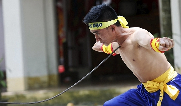vietnamese ancient martial art flourishing amid modern life