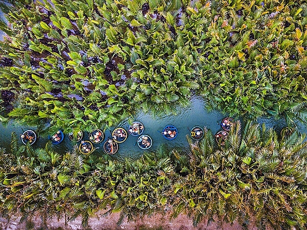 bay mau coconut forest creates a surprising miniature west in the heart of hoi an