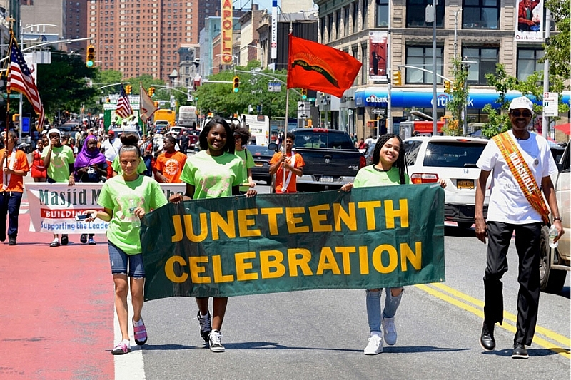 us news today american people celebrate juneteenth with anti racism marches across the nation