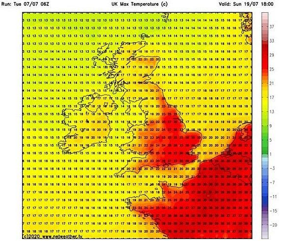 uk and europe weather forecast today july 9 blistering heatwave sweeps across the uk