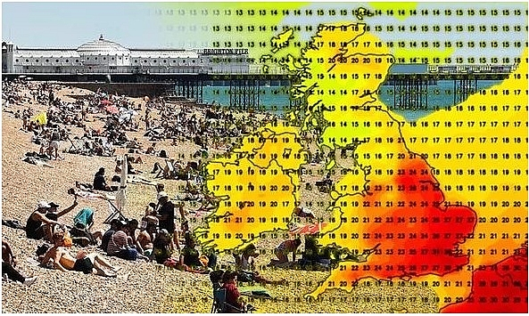 UK and Europe weather forecast, today July 9: Blistering heatwave sweeps across the UK