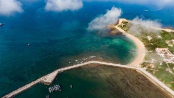 bach long vi the farthest island in gulf of tokin boasts peaceful charm