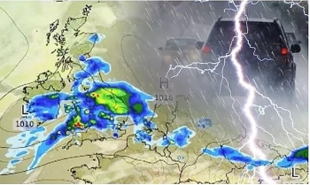 uk and europe weather forecast latest july 10 heavy rain to smash before stable conditions