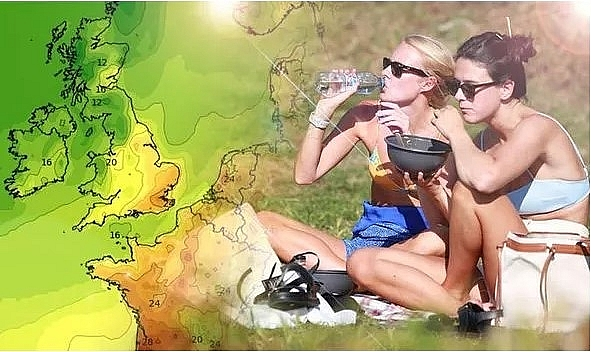 UK and Europe weather forecast latest, July 15: Heatwave slams UK as unsettled picture sweeps Europe