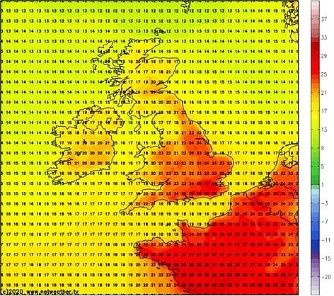 uk and europe weather forecast latest july 16 5 days scorcher to bake uk