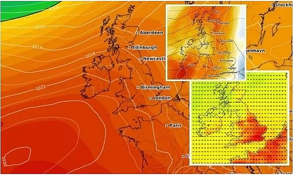 UK and Europe weather forecast latest, July 18: Searing weather sweeps UK over the weekend while flood alerts issued for Europe