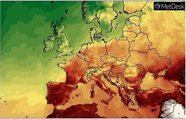 UK and Europe weather forecast latest, July 19: Scorching to bake UK as 109F heatwave battles Europe