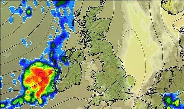 UK and Europe weather forecast latest, July 20: Heatwave OVER - unseasonably wet and windy heading to UK
