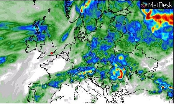 uk and europe weather forecast latest july 21 searing temperature continues before thundery downpours in europe