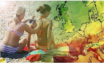 uk and europe weather forecast latest july 22 week long 30c heatwave to bake uk from next week