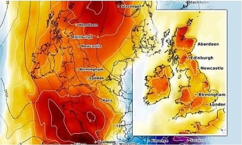 uk and europe weather forecast latest july 23 searing to end in britain