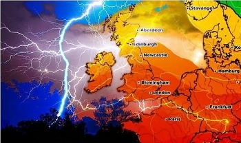 uk and europe weather forecast latest july 25 rain to extinguish the searing chain and cover britain
