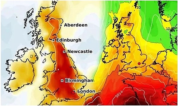 UK and Europe weather forecast latest, July 28: Next summer heatwave is on the way to make the weather map turn RED