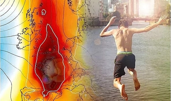 UK and Europe weather forecast latest, July 29: Searing 32C heatwave to bake Britain