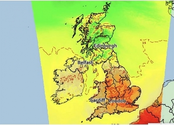 uk and europe weather forecast latest july 30 scorching to end as temperatures plummets in days