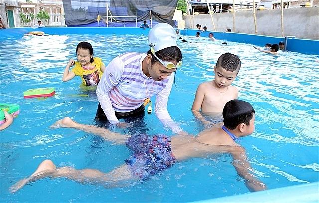 Enhancing Survival Swimming Skills for School Age Children