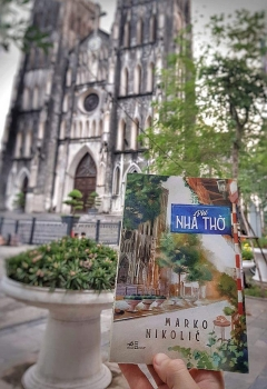 a serbian writes a great inspiring novel in vietnamese after 4 years of learning