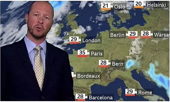 uk and europe weather forecast august 6 torrential rain to battle uk before temperature rockets