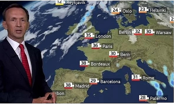 uk and europe weather forecast latest august 8 heat health warnings for the ek as hot weather to bake europe