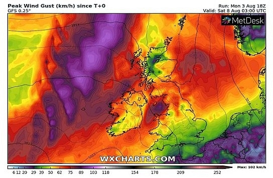UK and Europe weather forecast latest, August 12: Thunderstorms to rock many areas cross the UK