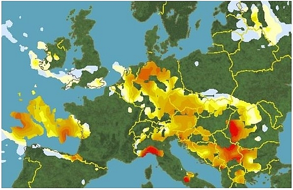 uk and europe weather forecast latest august 16 temperature plummets as severe weather formed in atlantic