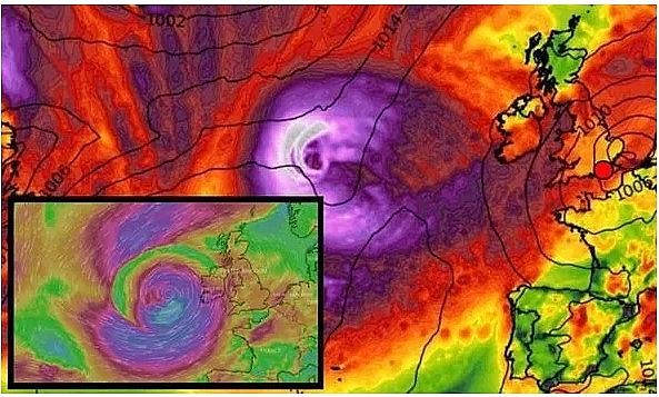 UK and Europe weather forecast latest, August 16: Temperature plummets as severe weather formed in Atlantic