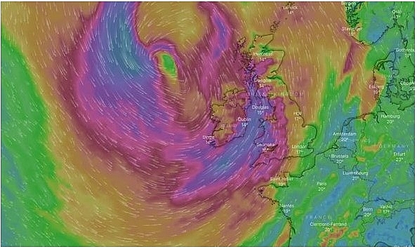 UK and Europe weather forecast latest, August 18:  Autumnal weather as Storm Kyle battles the UK