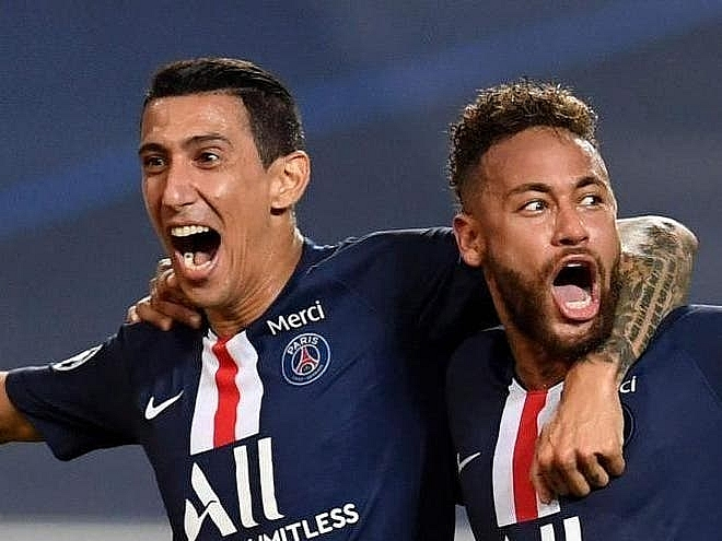 champions league 2020 psg cruises to final with a smooth 3 0 most hightlights scences