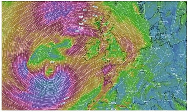 UK and Europe weather forecast latest, August 20: Ferocious winds warning across as Storm Ellen heads to the UK