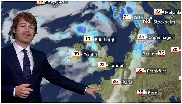UK and Europe weather forecast latest, August 21: Exact times and predictions when Storm Ellen hit the UK