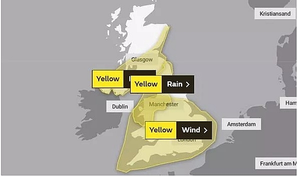 UK and Europe weather forecast latest, August 25: Storm Francis to battle UK with 70 mph gusts
