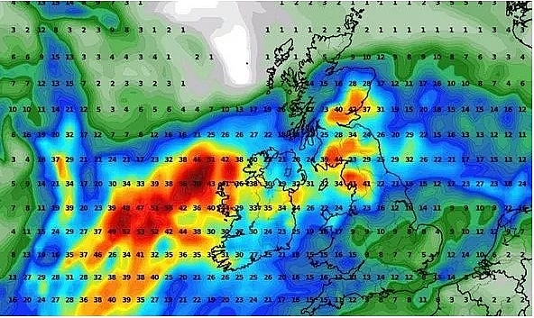 UK and Europe weather forecast latest, August 27: Storm Francis batters Europe and new parts of UK